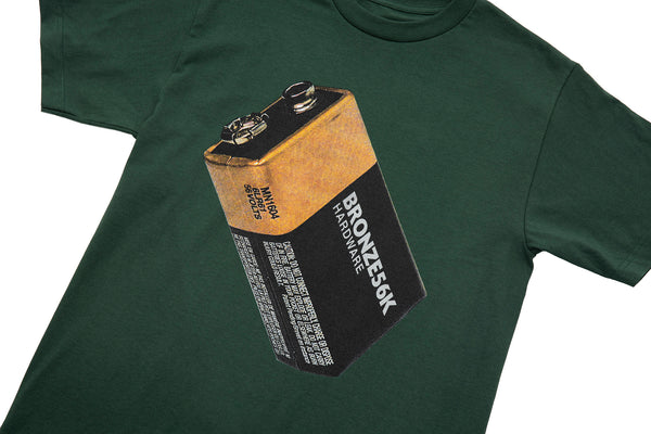 BATTERY TEE FOREST GREEN