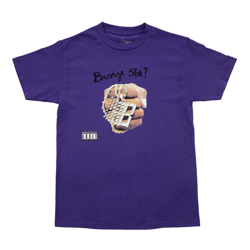 DJ BRONZE TEE PURPLE
