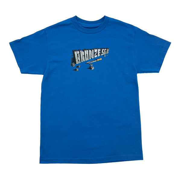 CHISEL TEE ROYAL BLUE