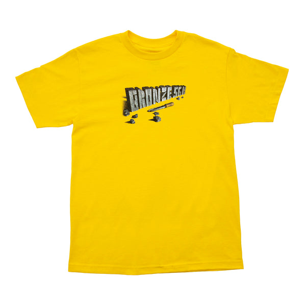 CHISEL TEE YELLOW
