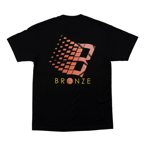 LOGO BASKETBALL TEE BLACK