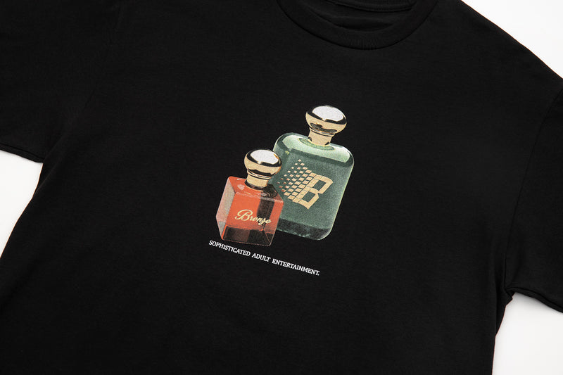FRAGRANCE TEE BLACK