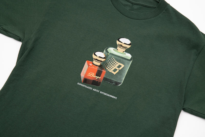 FRAGRANCE TEE FOREST GREEN