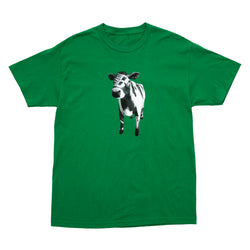 COW TEE KELLY GREEN