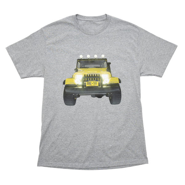JEEP TEE HEATHER GREY