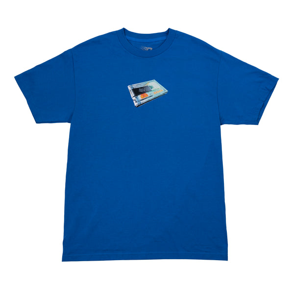 MONEY CLIP TEE ROYAL BLUE