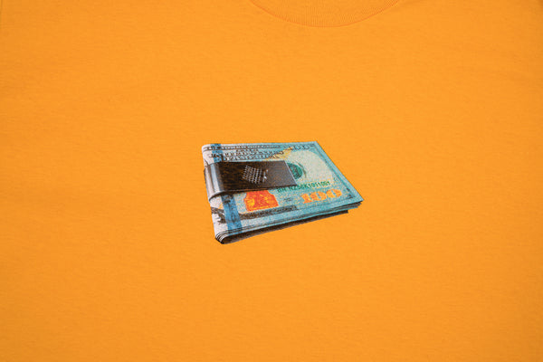 MONEY CLIP TEE GOLD