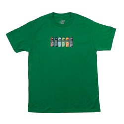BURNER PHONE TEE KELLY GREEN