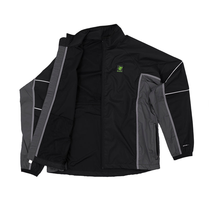 HIGH PERFORMACE WINDBREAKER BLACK