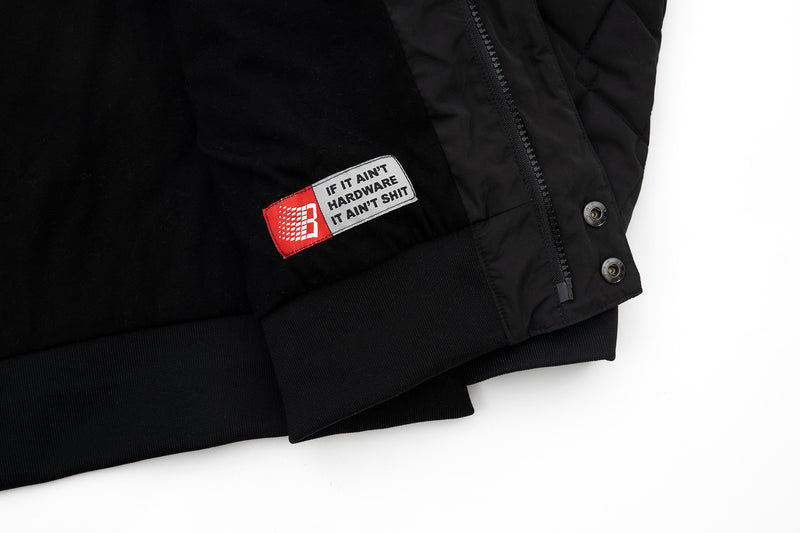 HARDWARE BOMBER JACKET BLACK