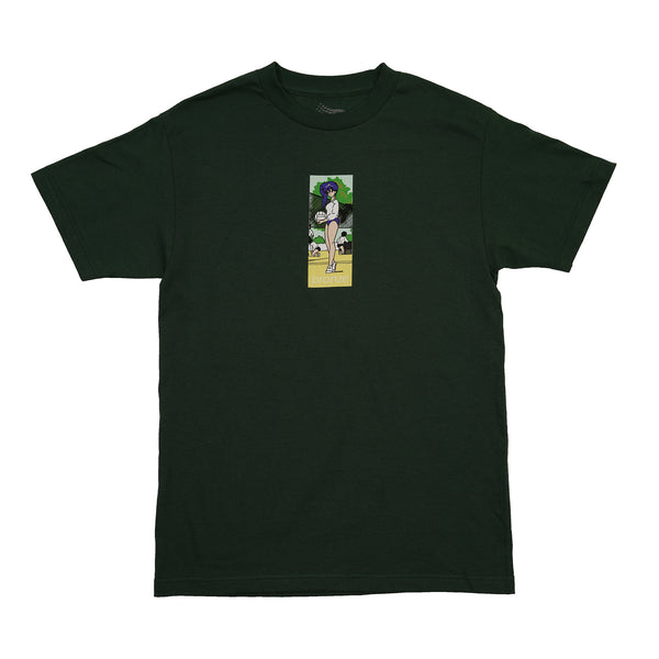 VOLLEY TEE FOREST GREEN