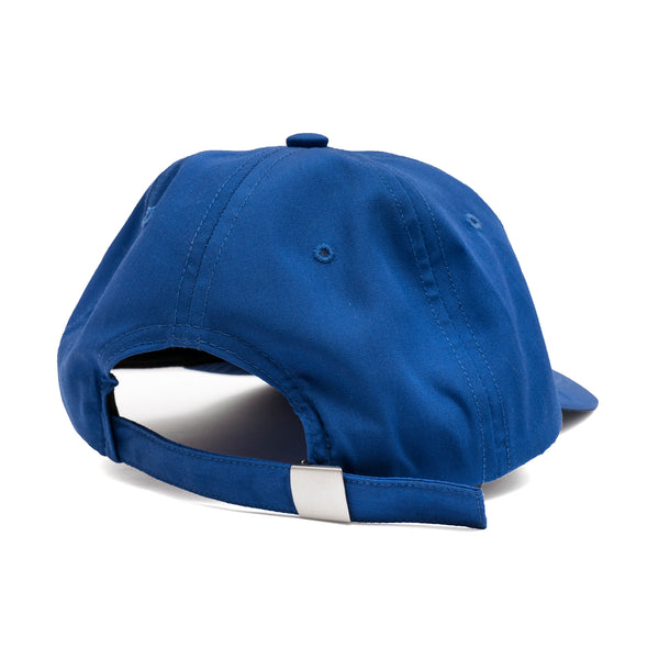 BRONZE FILM HAT ROYAL BLUE