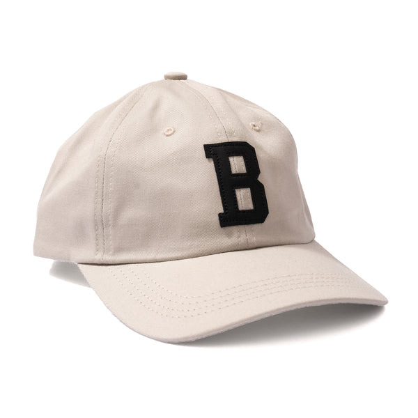 LEATHER B HAT STONE