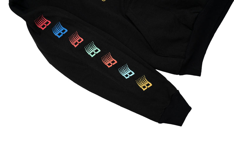 BRONZE TV HOODY BLACK