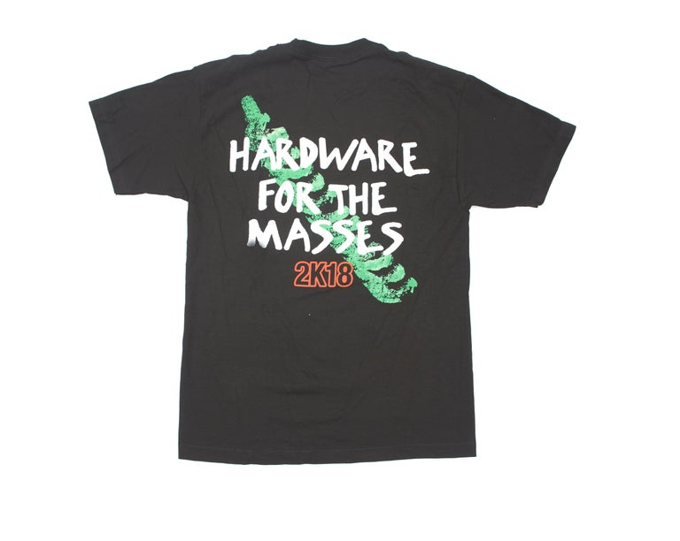 HARDWARE FOR THE MASSES TEE BLACK