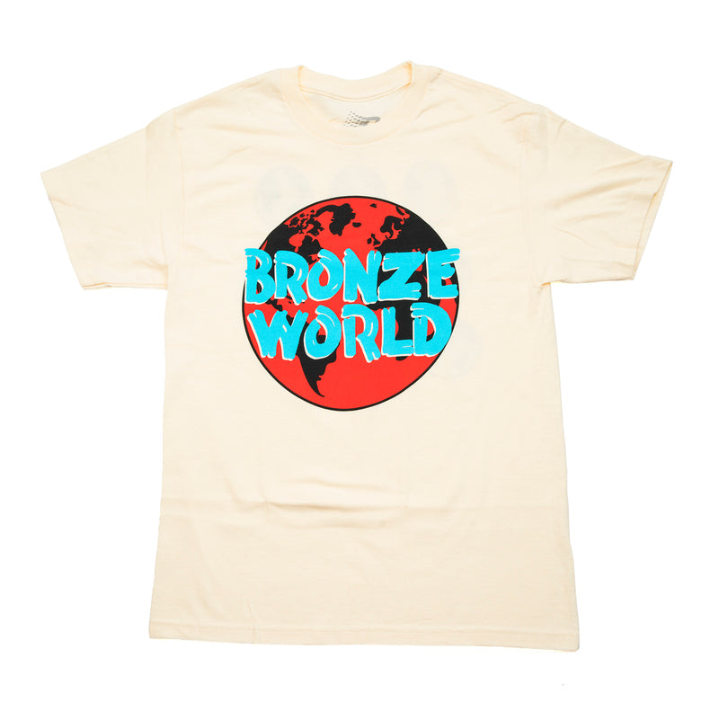BRONZE WORLD TEE CREAM