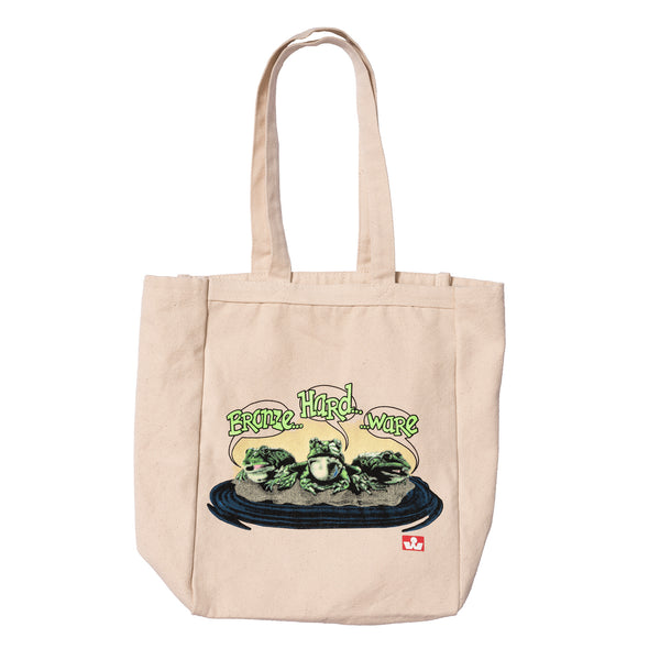 FROG CANVAS TOTE BAG