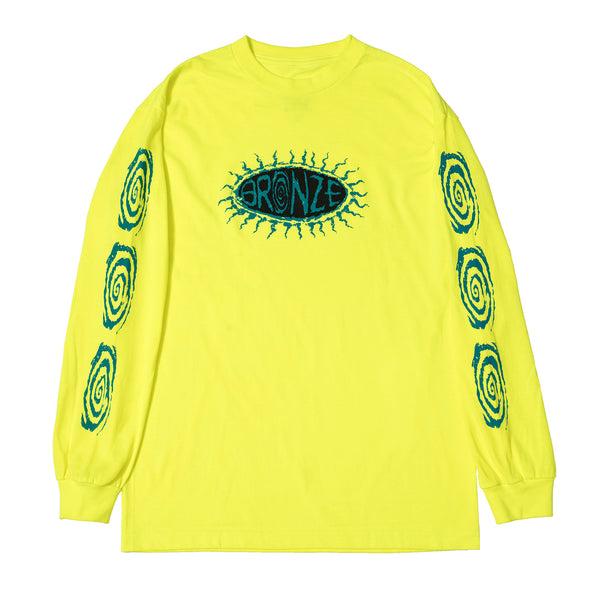 SURFER LONGSLEEVE TEE SAFETY GREEN
