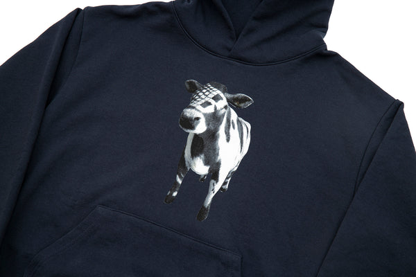 COW HOODY NAVY