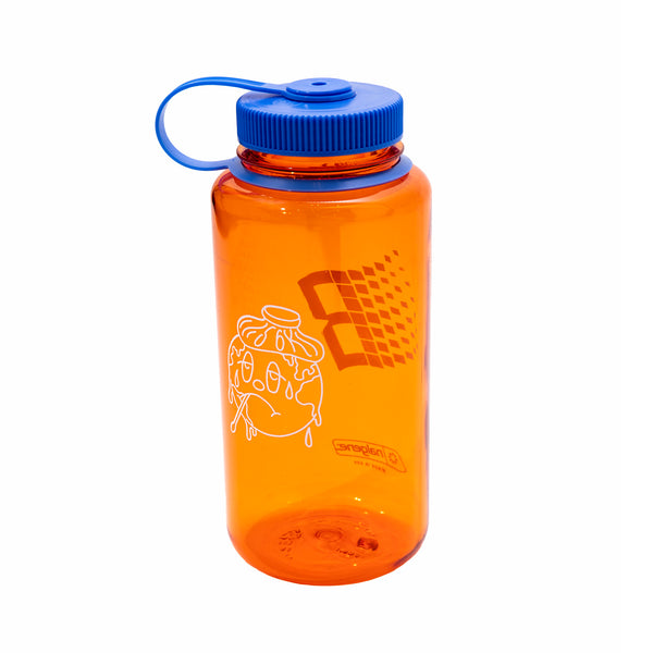 BRONZE NALGENE BOTTLE ORANGE