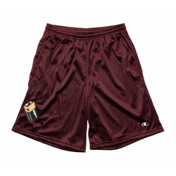BATTERY SHORT MAROON