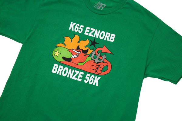 EZNORB TEE KELLEY GREEN