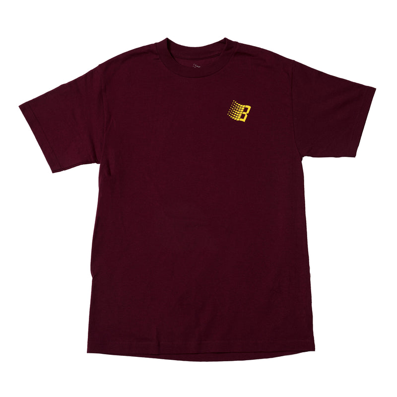 INTERNATIONAL TEE BURGUNDY