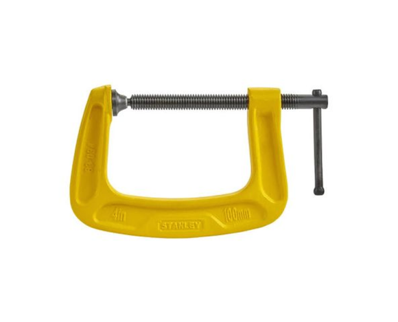photo 1 of Stanley MaxSteel® G Clamps 100mm x 75mm FatMax C Clamps Cramp UK 0-83-034