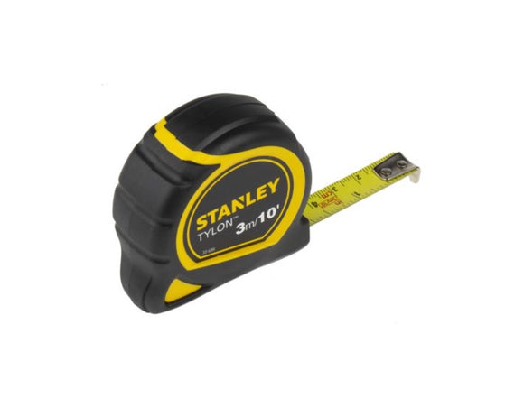 photo 1 of Stanley Tylon 3m Tape Measure, Metric & Imperial 1-30-686, Rubberised Case