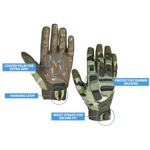 Tactical Camo Gloves RB01