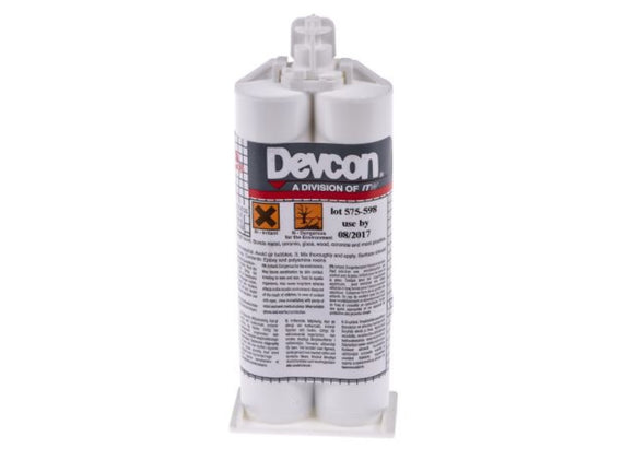 photo of ITW Devcon Structural Adhesives, Rapid Cure Clear Epoxy Resin Adhesive, 5 Minute X0039