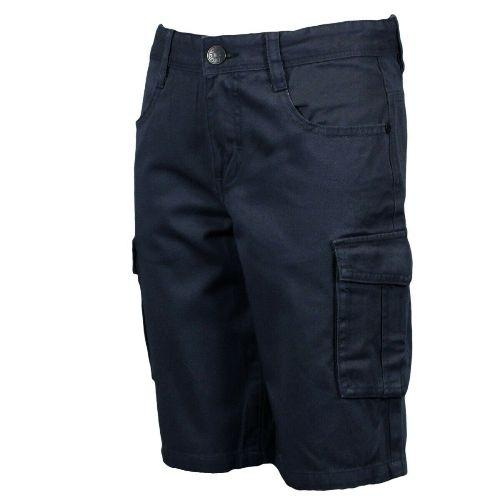 Boys Chino Cargo Shorts - Adjustable Waist