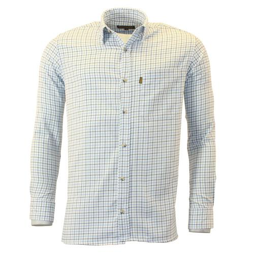 Mens Game Tattersall Shirt Traditional Check Country Style Long Sleeve S - XXL