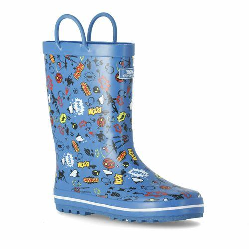 Trespass Apolloton Kids Waterproof Rubber Wellies
