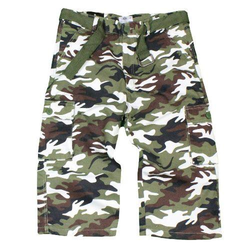 Men\'s 3/4 Length Cargo Shorts