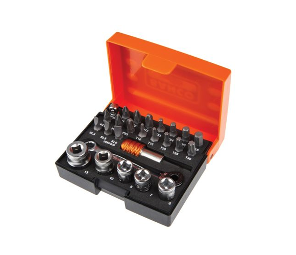 photo 1 of Bahco Ratchet Bit Set 26 pieces, 1/4 in