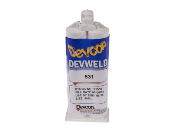 photo of ITW Devcon Devweld 531, 50 ml Paste Acrylic Adhesive 21500, High Performance Methacrylate Structural Adhesive