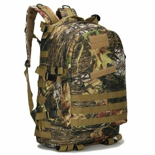 Hiking Walking Backpack 40L Molle Tactical Haversack 8 Colours Knapsack Rucksack