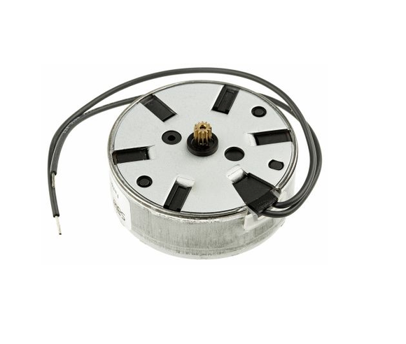 photo 1 of Johnson Electric 53465 Clockwise Synchronous AC Motor, 0.5 W, 1 Phase, 12 Pole, 230 V ac, Clip Mounting