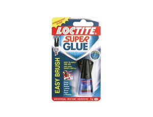photo of Loctite Liquid Superglue Brush On 5 g Super Glue Bottle Slalom 577091 Ethyl Adhesive