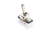 photo 1 of APEM SPST Toggle Switch, High Amperage 15A Latching Switches, Panel Mount 631H/2