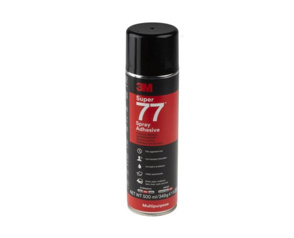 photo 1 of 3M Scotch-Weld Super™ 77 Spray Adhesive Glue, Carpet Tile Adhesives Glues 7000116782