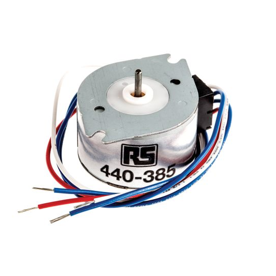 photo of Crouzet 820000 Reversible Synchronous AC Motor, 2.7 W, 2 Phase, 24 Pole, 230 → 240 V ac