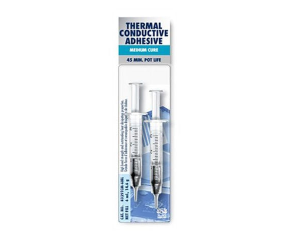 photo of MG Chemicals 8329 Carbon Conductive Adhesive Epoxy, 6 ml Syringe, Medium Cure 8329TCM-6ML