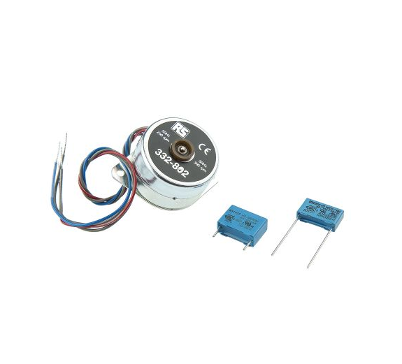 photo of Philips 9904 Reversible Synchronous AC Motor, 1.7 W, 2 Phase, 24 Pole, 110 → 240 V ac