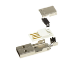 photo 1 of ASSMANN WSW Cable Mount Type A USB Connector Plug