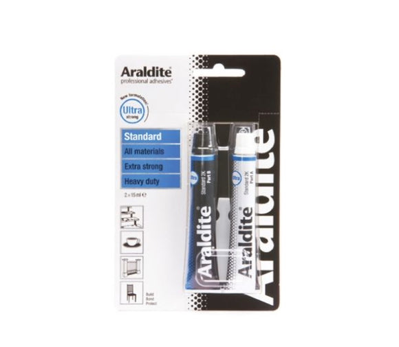 photo of Araldite® 32 g Tube Epoxy Adhesive, Ultra Strong 2 Part Glues Adhesives ARA-400001