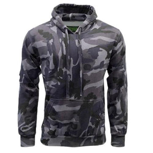 Game Camouflage Hoodie Warm Fleece Jumper Sizes S - 5XL Urban Night Camo Clothes