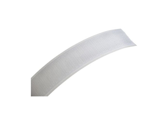 photo of VELCRO® Hook & Loop Tape 20mm x 5m, White Touch & Close Velcro Strip EB88020010114472