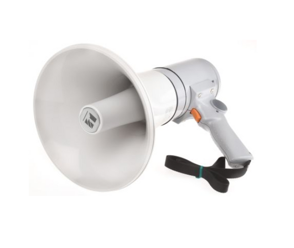 photo 1 of TOA Hand Grip Megaphone 15W Handheld Megaphones - Grey